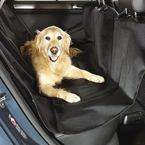 Crewell Funda para Asiento de Mascota con Protección Lateral Impermeable para Maletero de Coche