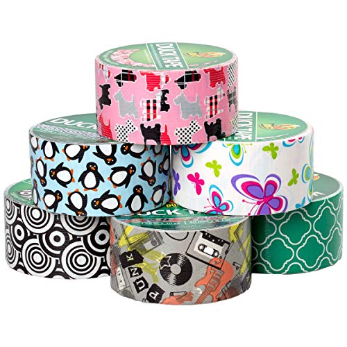 10 Pieces 1 Inch Masking Tape Labelling Tape Graphic Art Tape Board Line Tape Roll for Arts Crafts DIY (9)