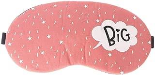 Sleep Mask New Cute Cotton Cartoon Eye Cover Sleeping Mask Creative Eyepatch Sleeping Aid Kids Blindfold Sleep Mask Travel Relax Eye Band (Color : Pink)