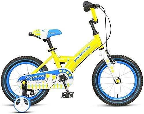 Kinderfürr r 14-Zoll-Jungen und mädchen fürr r 3-6 Jahre alt Baby Kinder fürr r, gelb   Rosa ( Farbe   Gelb )