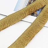 Yalulu - Cinta de costura para cortina, ropa, mesa, decoración del hogar (25 metros x 2,5 cm de ancho)
