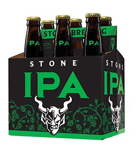 Stone Brewing IPA 6.9% ABV, 12 oz bottles (Pack of 6)
