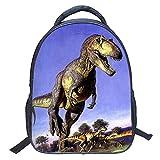 Zaino scuola materna Zaini impermeabili 3D Dinosaur Pattern Kids Schoolbag Kindergartentasche (Style ZZ11)