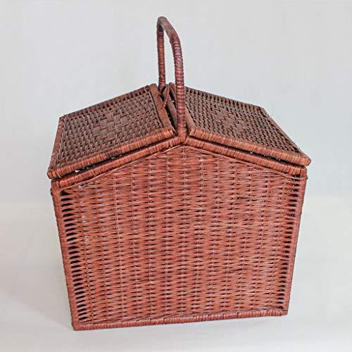 CJH Creative Picknickmand winkelwagentje Storage Basket Fruit Basket