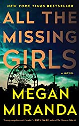 All The Missing Girls by Megan Miranda book cover with ferris wheel
