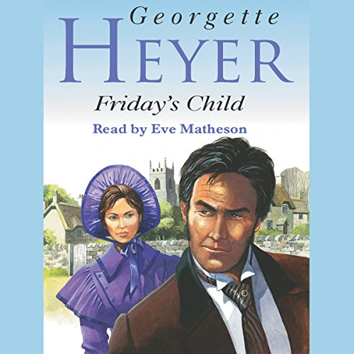 Friday's Child audiobook cover art