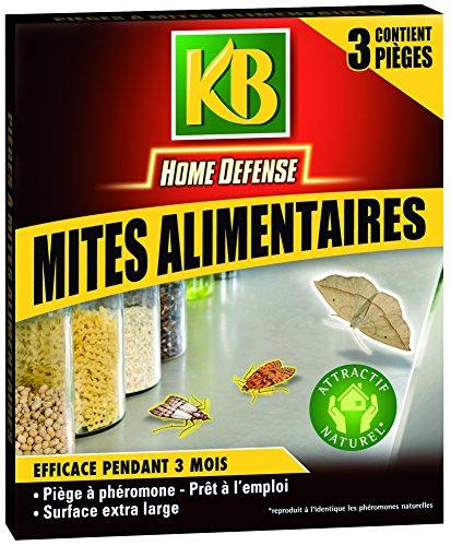 KB Home Defense HDMIT 9560 - Trampa para polillas de los alimentos, Pack de 3