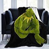 TILLIEE Kermit The Frog Ultra-Soft Micro Fleece Blanket Winter Summer Fabric Blanket Bed Sofa Home Office 50'X40'
