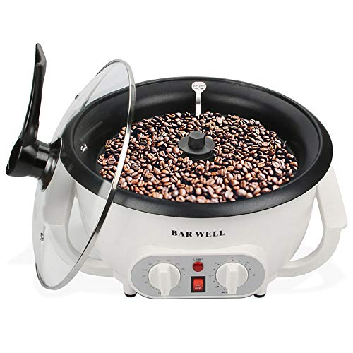Upgrade Coffee Roaster Machine, 220V 1200W Coffee Roaster for Home Use Coffee Bean Roaster with Timing by TuTu Home