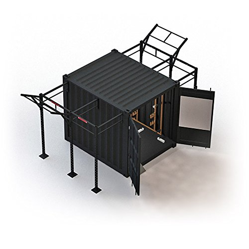 Beaverfit Forward Operating Base Locker 10 - Tactical Gym Box - Mobiles Fitnessstudio in Sportcontainer