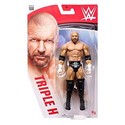 WWE GKT12 - Bewegliche WWE-Actionfigur (15 cm) im Wrestling-Look