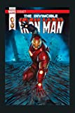 Marvel Iron Man Shock Legacy Comic Cover Premium: Notebook Planner - 6x9 inch Daily Planner Journal, To Do List Notebook, Daily Organizer, 114 Pages