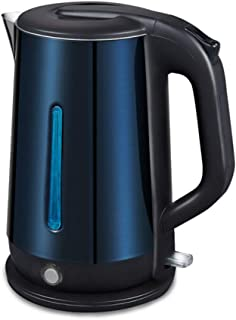 LJBH Large-capacity Two-layer Anti-scalding Electric Kettle, 1.8L, Dark Blue,low Noise,Automatic Power-off,Applicable Volt...