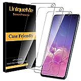 UniqueMe [3 Pack] Protector de Pantalla para Samsung Galaxy S10e, Vidrio Templado [ 9H Dureza ] [Sin Burbujas] HD Film Cristal Templado para Samsung Galaxy S10e