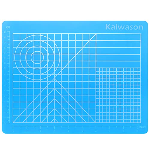 3d Stifte Silikon matte, 3d Stifte Zubehörteil 27 * 21.5cm Durchscheinend Blau Zeichenwerkzeug mit Basisvorlagen für Kind und Anfänger