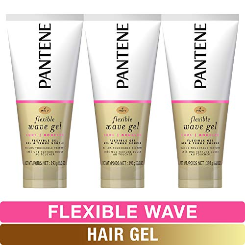 Pantene, Hair Gel, Flexible Wave, Pro-V, 6.8 fl oz, Triple Pack