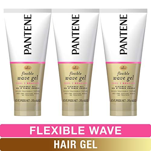 Pantene, Hair Gel, Flexible Wave, Pro-V, 6.8 fl oz, Triple Pack
