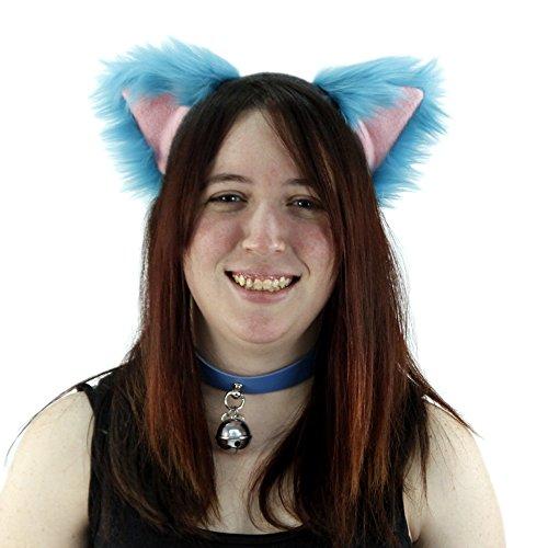 Pawstar Cheshire Cat Furry Ear Headband Costume - Alternate