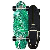 Surfskate Skateboard Carving Drop-Through Freeride Skate Cruiser Boards, Completo arce tablero 78×24cm, Rodamientos de Bolas ABEC Alta velicidad, 7 capas arce, para principiantes y profesionales,C