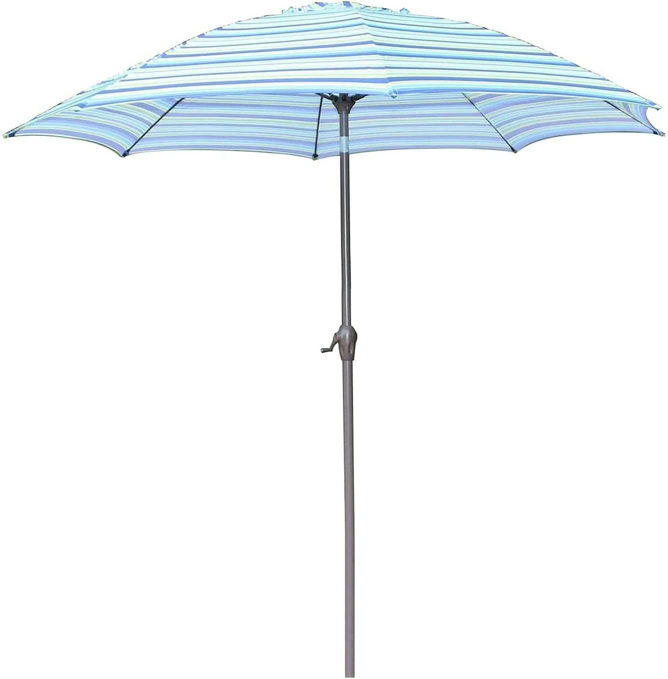 FENGNV Large Some reservation Parasol Colorado Springs Mall Umbrella Umbre Beach Striped Patio