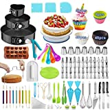 Cake Decorating Supplies,393 PCS Cake Decorating Kit 3 Packs Springform Cake Pans, Cake Ro...