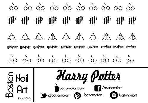 Harry Potter Waterslide Nail Decals - 50pc