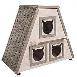 maison pour chat exterieur hiver ventana blog. Black Bedroom Furniture Sets. Home Design Ideas