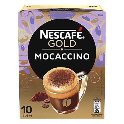 30x Tassen NESCAFE Mocaccino Coffee Instant Kaffee 7g kaffeemilch Pulverkaffee