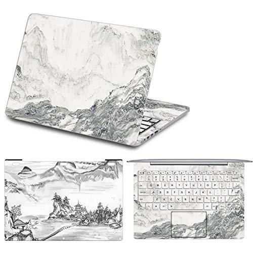 Adesivo per computer portatile Xiaomi Mi Notebook Pro 15.6 colorato Full Set stampa decalcomania in vinile per Xiaomi Air 12 13 pollici 5 For Xiaomi Air 12