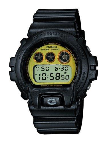 Casio DW-6900PL-1ER - G-shock - herenhorloge - kwarts digitaal - LCD-wijzerplaat - armband van kunsthars zwart