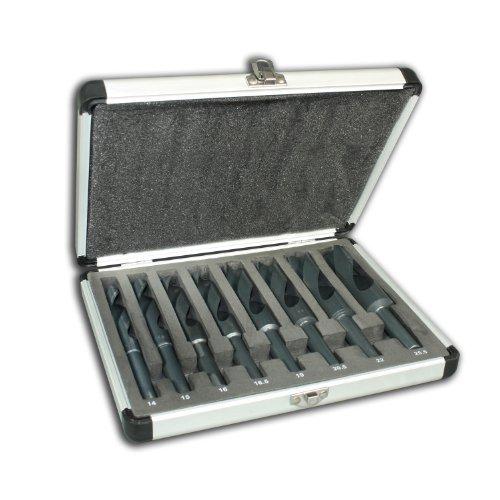 Spiralbohrer HSS Set 8 teilig 14-25,5mm Metallbohrer