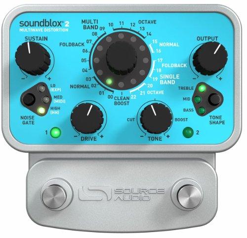 SOURCE AUDIO SA221 SOUNDBLOX2 PEDAL BASS Multiwave