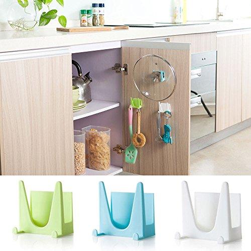Wffo - Soporte de plástico para ollas de cocina