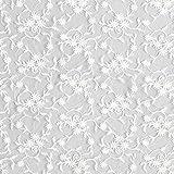 Fabulous Fabrics Tüllspitze weiß, 120cm breit – zum