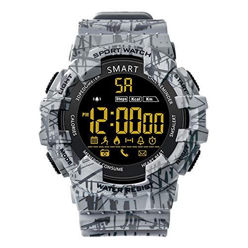 Reloj Inteligente Al Aire Libre, 5ATM Impermeable, Recordatorio De Información, Modo De...