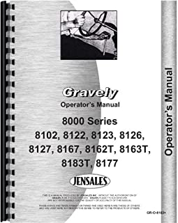 Gravely 8123 Lawn & Garden Tractor Operators Manual