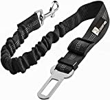 Seat Belt for dogs with Anti shock Bungee Buffer One of Important Car Travel Accessories for Dogs Adjustible, Elastic