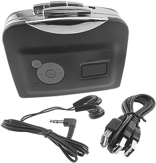 Homyl Black USB Cassette Tape to MP3 Converter Player