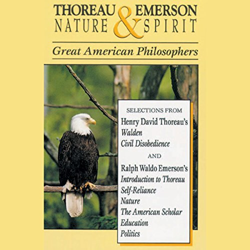Thoreau and Emerson: Nature and Spirit audiobook cover art