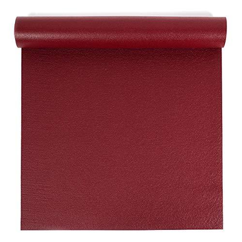 Yoga Studio OEKO-TEX Original Sticky Travel Yogamatte (60 x 183 x 0,3 cm) (Berry Red)