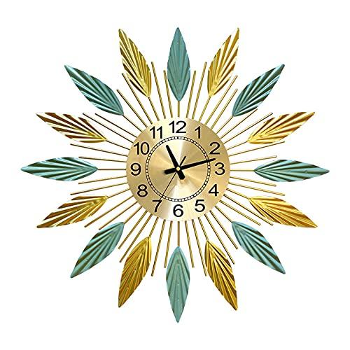 GUTYRE Horloges De Décoration pour La Maison, Horloges Murales De Fond De Salon, Décoration Murale, Pendentif D horloge De Porche De Salle À Manger Suspendue,Small