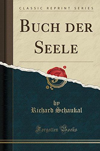 Buch der Seele (Classic Reprint)