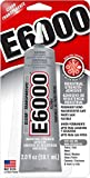 Eclectic 2 oz Tube of E-6000 Adhesive Glue - Ground Shipping Only