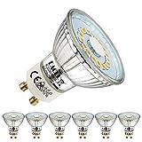 EACLL Ampoules LED GU10 Blanc Chaud Source de lumière 5W 2700K 425 Lumens, Équivalent...