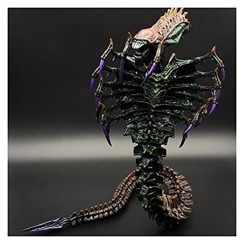 MNYHJDS 7 Pollici Scala Mantis Heteromorphic Snake Snake Alien Collector's Action Figure per i Fan di Alieni da Aliens VS Predator O