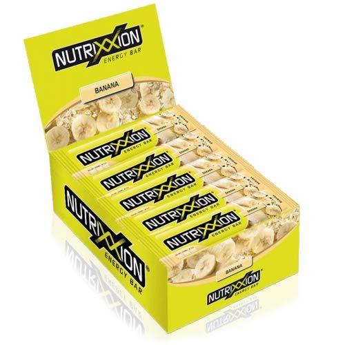 Nutrixxion BARRITAS ENERGÉTICA Set 25 x 55g, FlavorName Banana