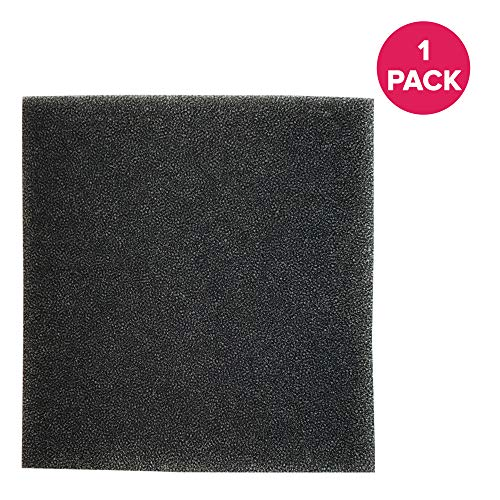 Think Crucial Replacement for Dirt Devil Style F45 Foam Filter Fits EZ Lite Canister Vacuums, Compatible with Part # 1KQ0106000