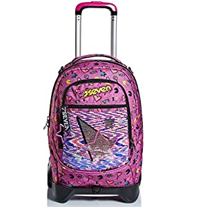 510XzyPnb L. SS300  - Trolley Backpack Seven Jack 2WD Starry Rainbow