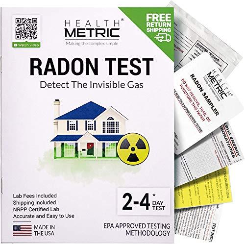 Radon Test Kit for Home