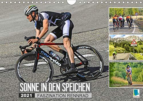 Sonne in den Speichen - Faszination Rennrad (Wandkalender 2021 DIN A4 quer)